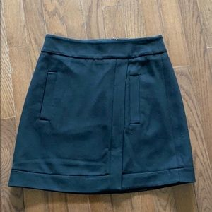 Zara Basic Black Skirt Size Small